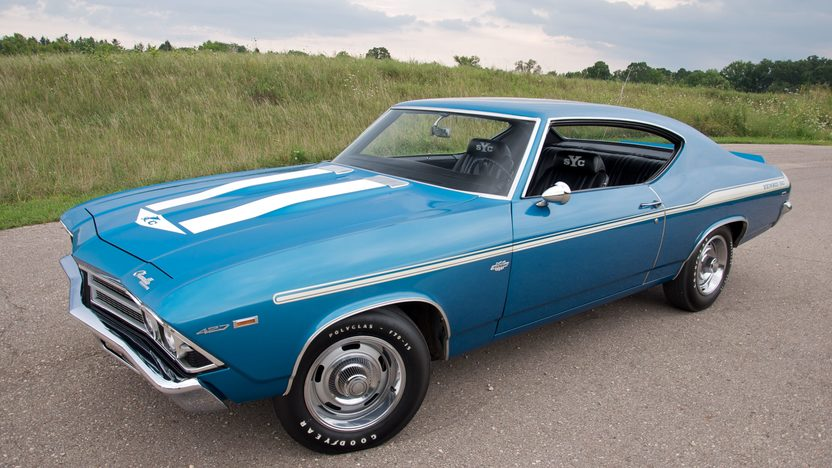 1969 Chevrolet Yenko Chevelle 427/425 HP, Automatic presented as lot S80 at St. Charles, IL 2011 - image4