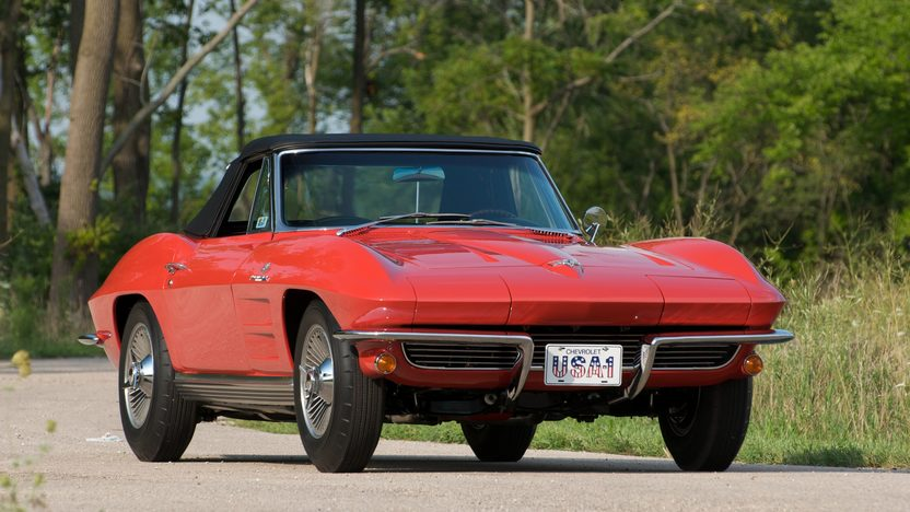1964 Chevrolet Corvette Convertible 327/375 HP, 4-Speed presented as lot S81 at St. Charles, IL 2011 - image2