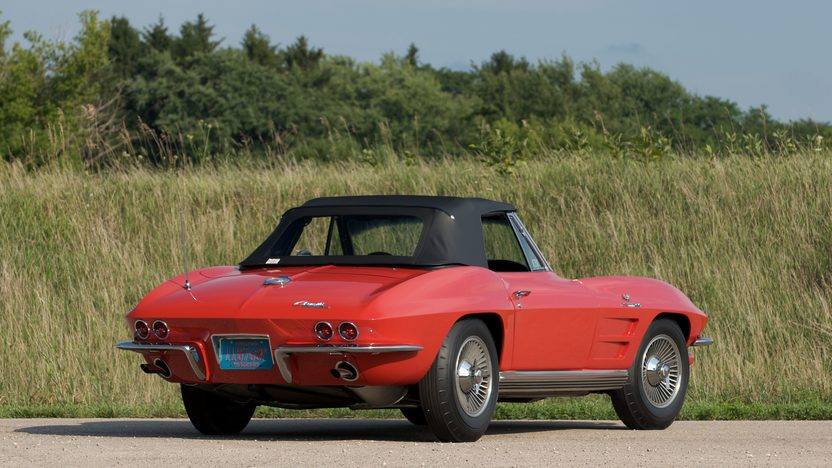1964 Chevrolet Corvette Convertible 327/375 HP, 4-Speed presented as lot S81 at St. Charles, IL 2011 - image3