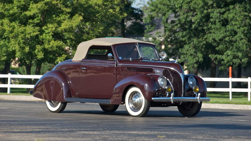 1938 Ford Cabriolet 85 CI presented as lot S84 at St. Charles, IL 2011 - image2