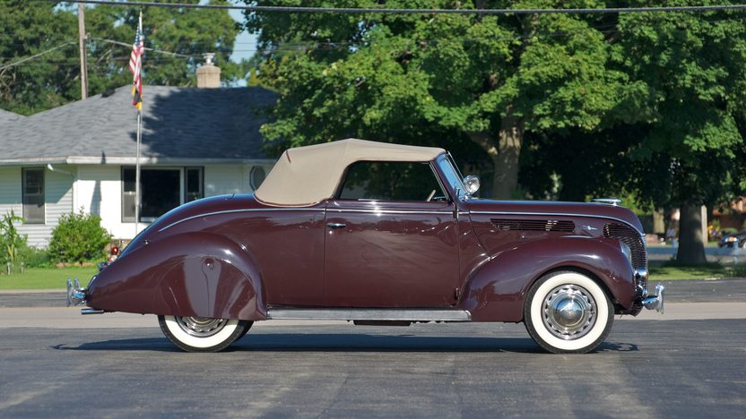 1938 Ford Cabriolet 85 CI presented as lot S84 at St. Charles, IL 2011 - image3