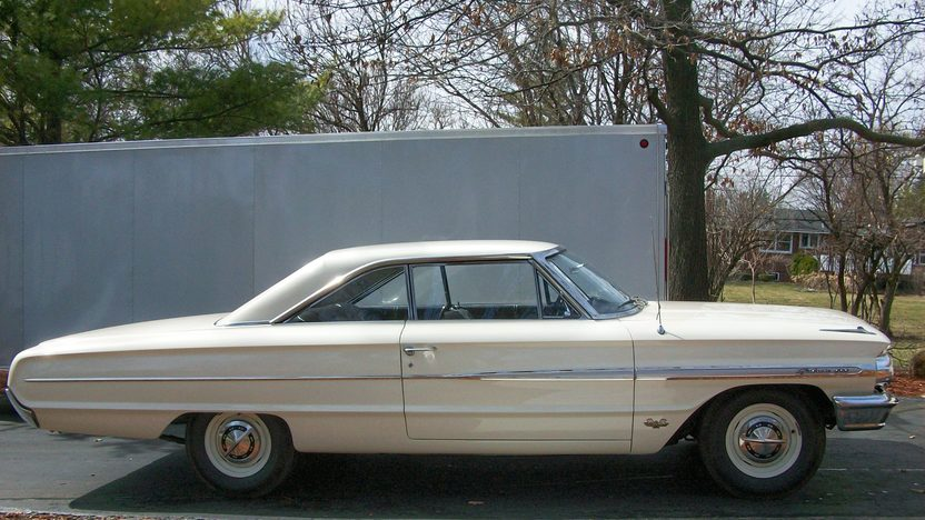 1964 Ford Galaxie R-Code Fastback 427/425 HP, 4-Speed presented as lot S89 at St. Charles, IL 2011 - image5