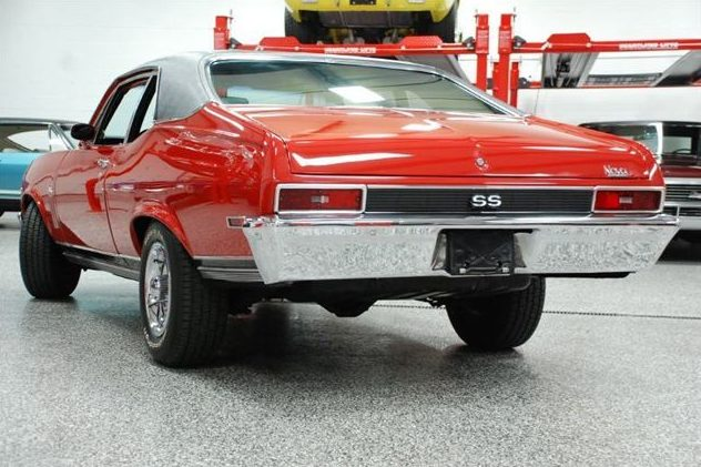 1970 Chevrolet Nova SS 350/300 HP, Automatic presented as lot S92 at St. Charles, IL 2011 - image4