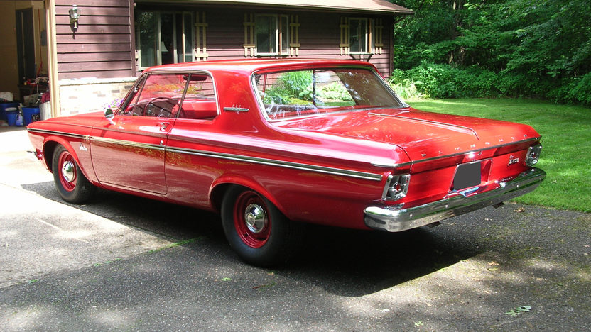 1963 Plymouth Belvedere Max Wedge 426/415 HP, 4-Speed presented as lot S95 at St. Charles, IL 2011 - image2
