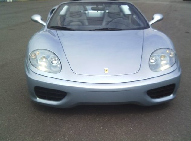 2001 Ferrari 360 Modena Spyder 3.6/400 HP, 6-Speed presented as lot S101 at St. Charles, IL 2011 - image2