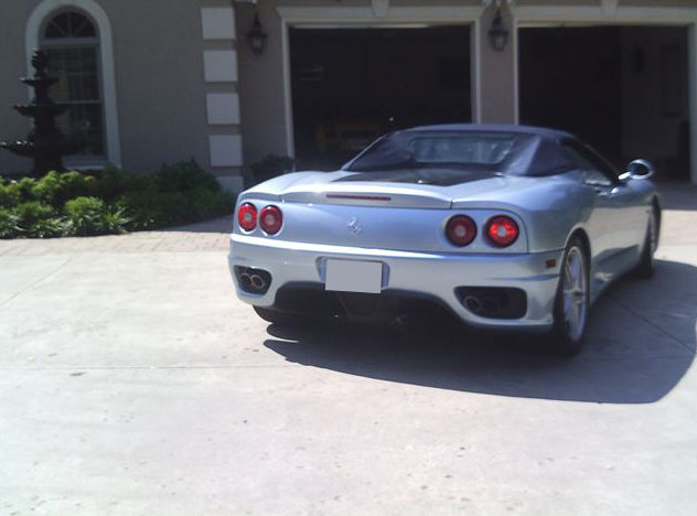 2001 Ferrari 360 Modena Spyder 3.6/400 HP, 6-Speed presented as lot S101 at St. Charles, IL 2011 - image3