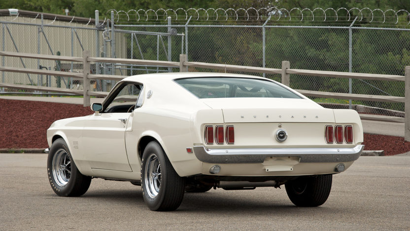 1969 Ford Mustang Boss 429 Fastback KK #1451, 4-Speed presented as lot S109 at St. Charles, IL 2011 - image2