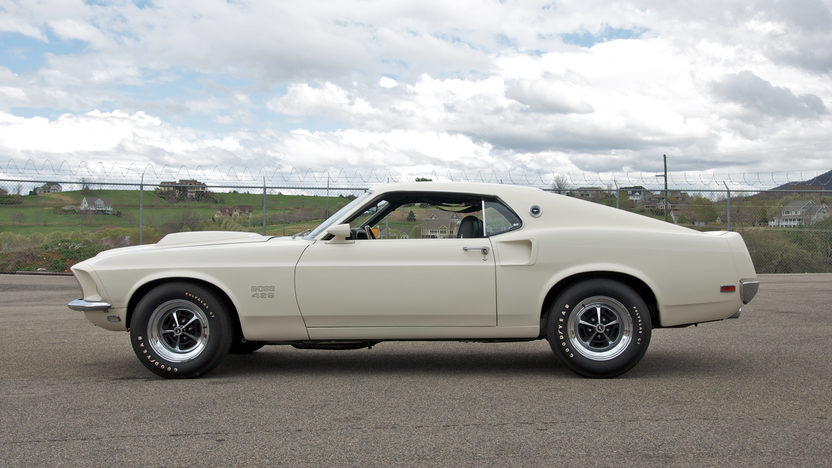 1969 Ford Mustang Boss 429 Fastback KK #1451, 4-Speed presented as lot S109 at St. Charles, IL 2011 - image8