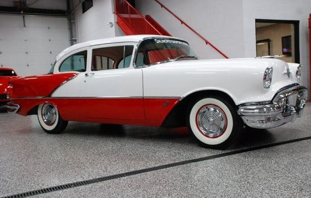 1956 Oldsmobile Rocket 88 324 CI, Automatic presented as lot S115 at St. Charles, IL 2011 - image3