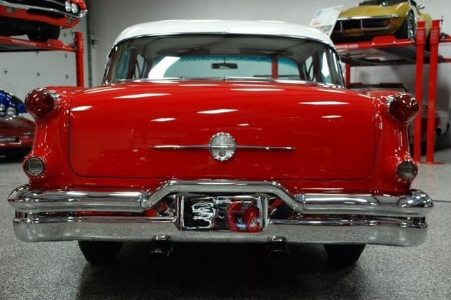 1956 Oldsmobile Rocket 88 324 CI, Automatic presented as lot S115 at St. Charles, IL 2011 - image4