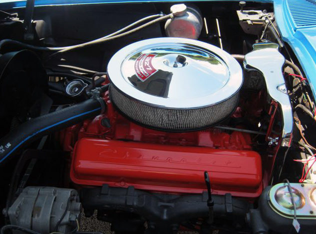 1967 Chevrolet Corvette Convertible 327/300 HP, 4-Speed presented as lot S116 at St. Charles, IL 2011 - image6