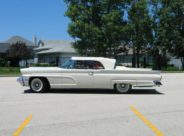 1959 Lincoln Mark IV Convertible 430/350 HP, Automatic presented as lot S118 at St. Charles, IL 2011 - image2