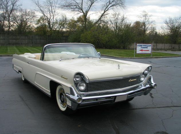 1959 Lincoln Mark IV Convertible 430/350 HP, Automatic presented as lot S118 at St. Charles, IL 2011 - image3