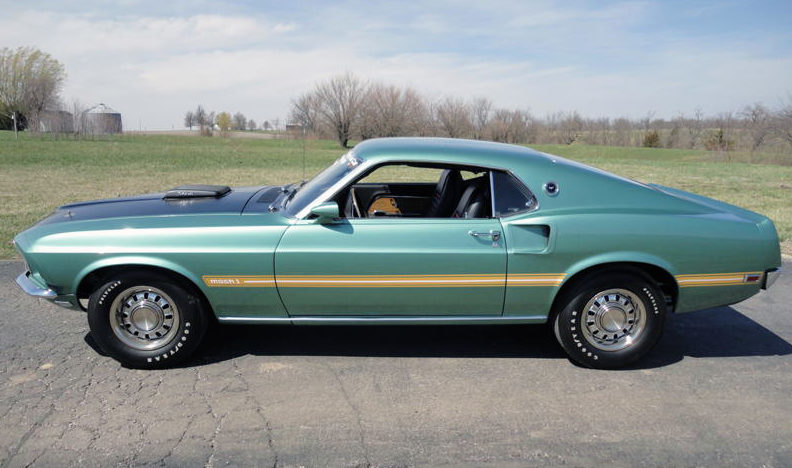 1969 Ford Mustang Mach 1 Factory Test Car 428 CI CJ, Automatic presented as lot S121 at St. Charles, IL 2011 - image12