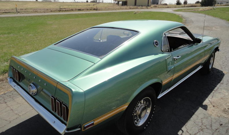 1969 Ford Mustang Mach 1 Factory Test Car 428 CI CJ, Automatic presented as lot S121 at St. Charles, IL 2011 - image2