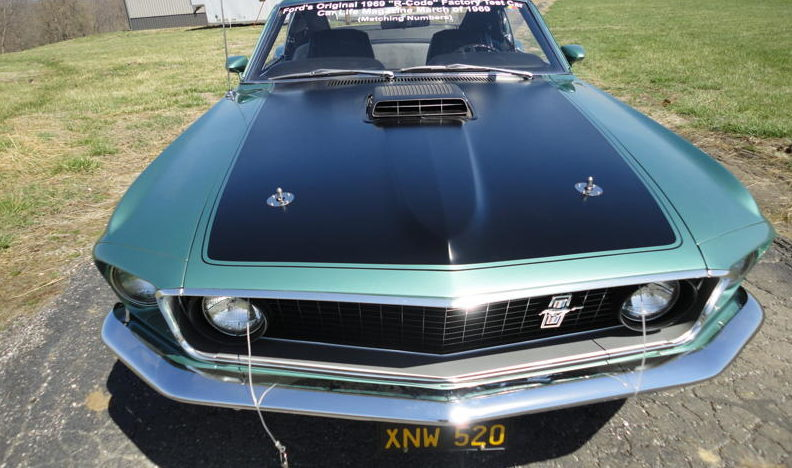 1969 Ford Mustang Mach 1 Factory Test Car 428 CI CJ, Automatic presented as lot S121 at St. Charles, IL 2011 - image3