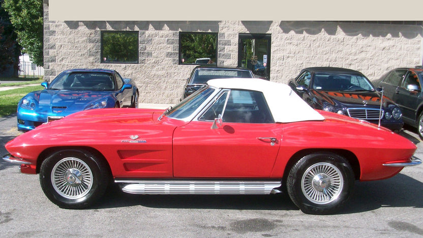 1964 Chevrolet Corvette Convertible presented as lot S122 at St. Charles, IL 2011 - image3