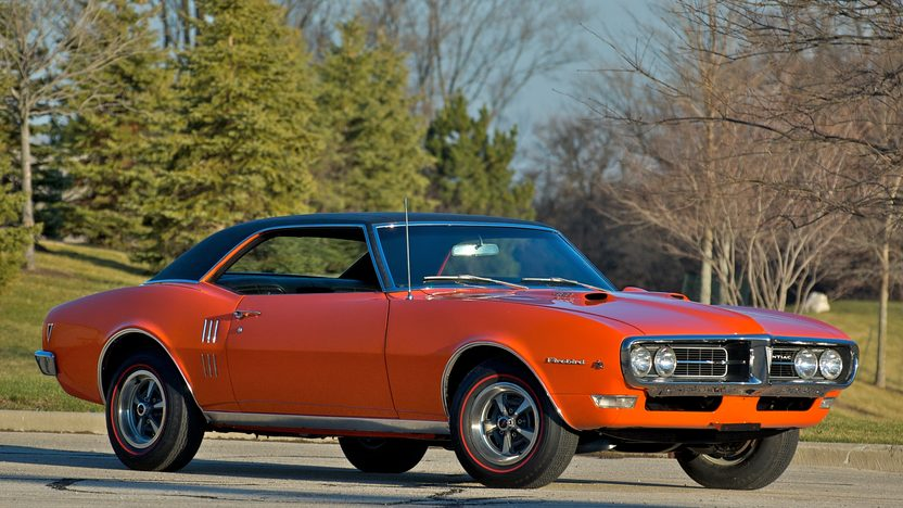 1968 Pontiac Firebird Coupe 400/335 HP, Automatic presented as lot S144 at St. Charles, IL 2011 - image2