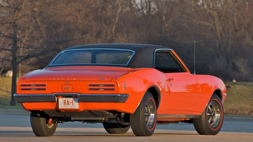 1968 Pontiac Firebird Coupe 400/335 HP, Automatic presented as lot S144 at St. Charles, IL 2011 - image3
