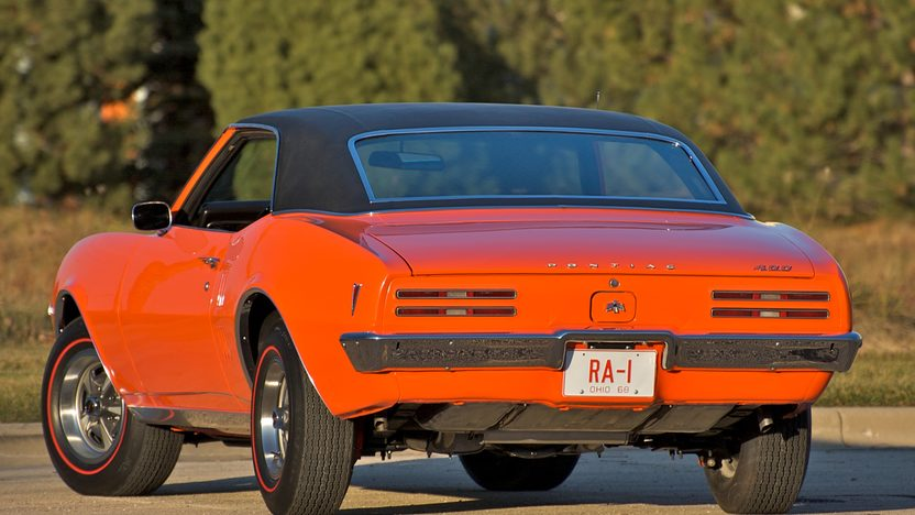 1968 Pontiac Firebird Coupe 400/335 HP, Automatic presented as lot S144 at St. Charles, IL 2011 - image4