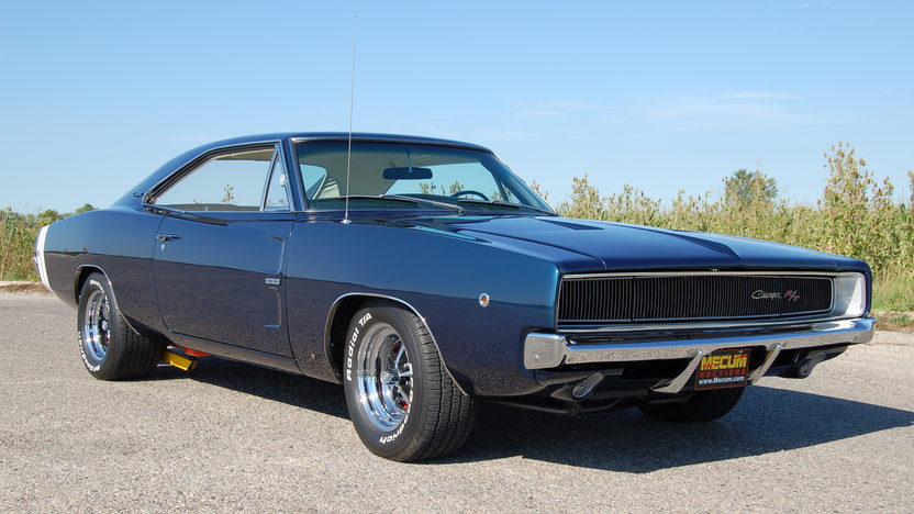 1968 Dodge Hemi Charger R/T 2-Door Hardtop 426/465 HP, 4-Speed presented as lot S146 at St. Charles, IL 2011 - image3
