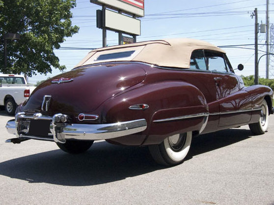 1948 Buick Roadmaster Convertible 320 CI, Automatic presented as lot S150 at St. Charles, IL 2011 - image2