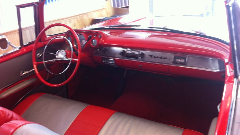 1957 Chevrolet Bel Air Convertible 283 CI, Automatic presented as lot S158 at St. Charles, IL 2011 - image6