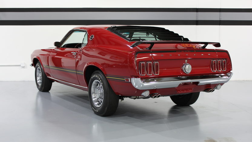 1969 Ford Mustang Mach 1 428 CI SCJ, 4-Speed presented as lot S160 at St. Charles, IL 2011 - image3