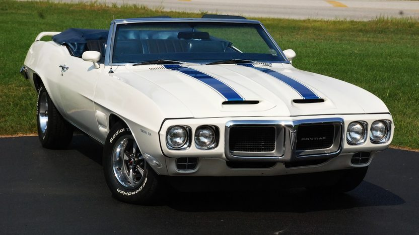 1969 Pontiac Firebird Trans Am Replica 400 CI, Automatic presented as lot S163 at St. Charles, IL 2011 - image3