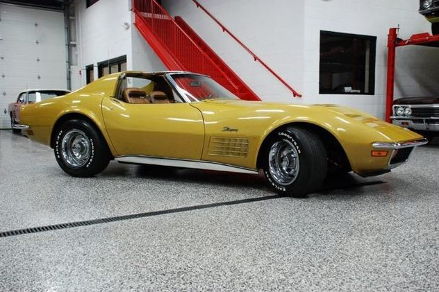1972 Chevrolet Corvette Coupe 454 CI, 4-Speed presented as lot S165 at St. Charles, IL 2011 - image3