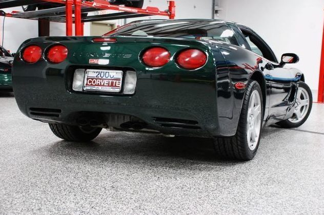 2000 Chevrolet Corvette presented as lot S166 at St. Charles, IL 2011 - image2