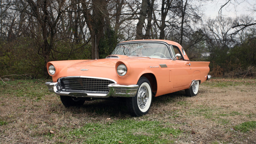 1957 Ford Thunderbird Convertible 312 CI, Automatic presented as lot S184 at St. Charles, IL 2011 - image6