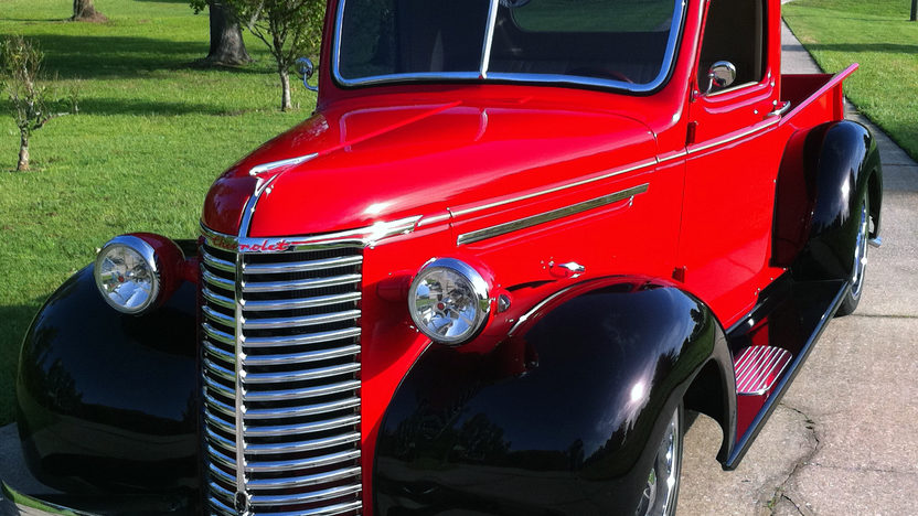 1939 Chevrolet Street Rod Pickup 350/300 HP, Automatic presented as lot S187 at St. Charles, IL 2011 - image2