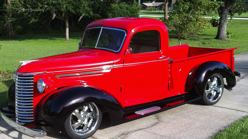 1939 Chevrolet Street Rod Pickup 350/300 HP, Automatic presented as lot S187 at St. Charles, IL 2011 - image3