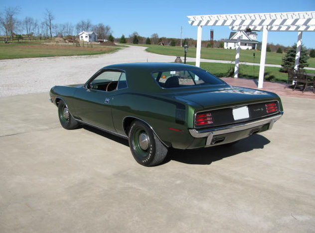 1970 Plymouth Hemi Cuda Coupe 426 CI, Automatic presented as lot S195 at St. Charles, IL 2011 - image2