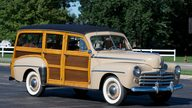 1948 Ford Woody Super Deluxe Station Wagon presented as lot S196 at St. Charles, IL 2011 - thumbail image3