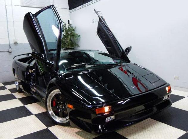 1998 Lamborghini Diablo SV presented as lot S197 at St. Charles, IL 2011 - image3