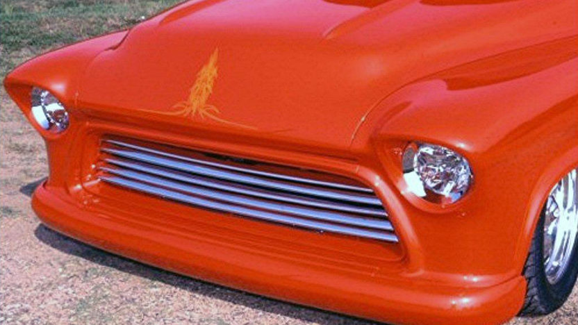 1955 Chevrolet 3100 Custom Pro Street Pickup 396/520 HP, Automatic presented as lot S198 at St. Charles, IL 2011 - image2