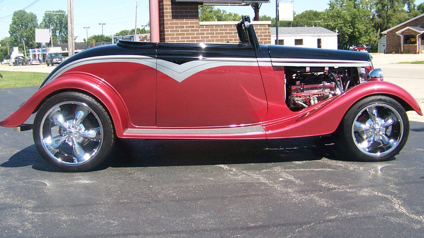 1934 Ford  Street Rod 350 CI, Automatic presented as lot S203 at St. Charles, IL 2011 - image2