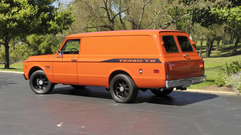1970 Chevrolet Panel Delivery Truck 402/428 HP, Automatic presented as lot S209 at St. Charles, IL 2011 - image4