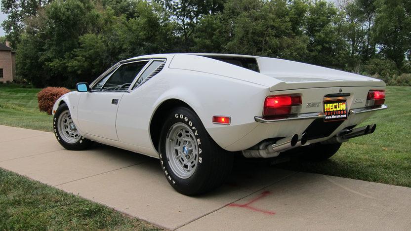 1972 DeTomaso Pantera Ghia presented as lot S210 at St. Charles, IL 2011 - image2