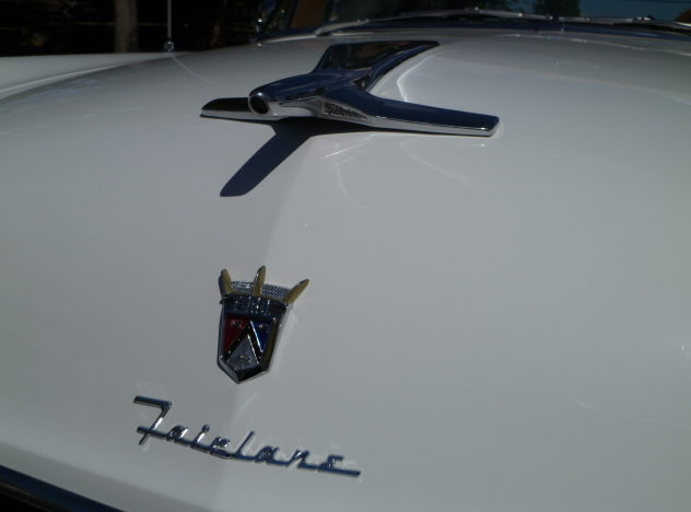 1955 Ford Fairlane 2-Door Sedan presented as lot S211 at St. Charles, IL 2011 - image5