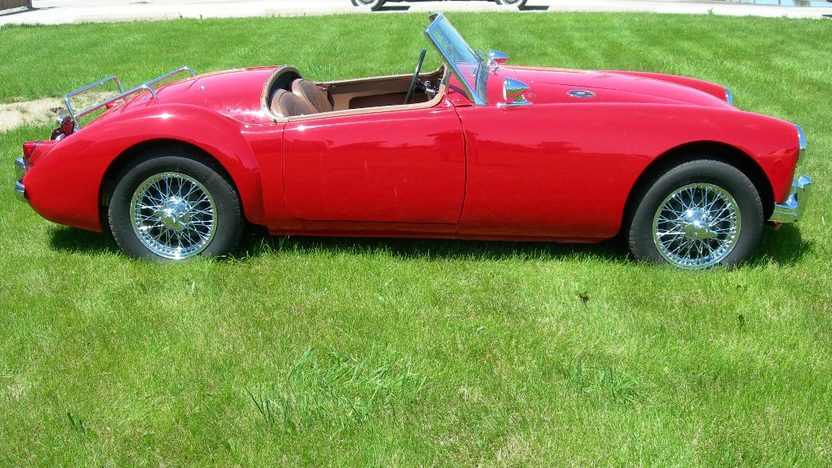 1959 MG A 1500CC, 4-Speed presented as lot S224 at St. Charles, IL 2011 - image2
