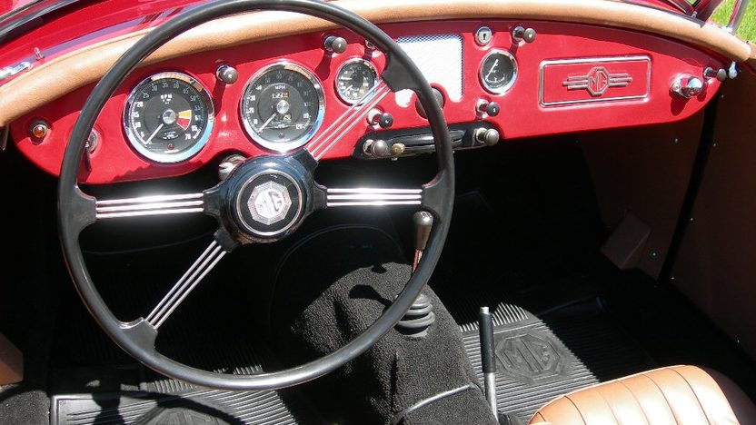 1959 MG A 1500CC, 4-Speed presented as lot S224 at St. Charles, IL 2011 - image4