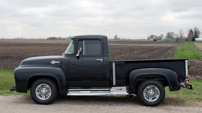 1956 Ford F100 Pickup 390 CI, Automatic presented as lot U158 at St. Charles, IL 2011 - image3