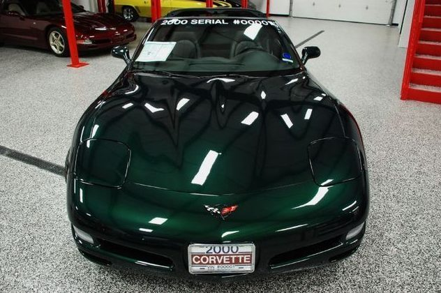 2000 Chevrolet Corvette Automatic presented as lot U159 at St. Charles, IL 2011 - image3