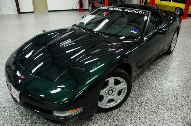 2000 Chevrolet Corvette Automatic presented as lot U159 at St. Charles, IL 2011 - image8