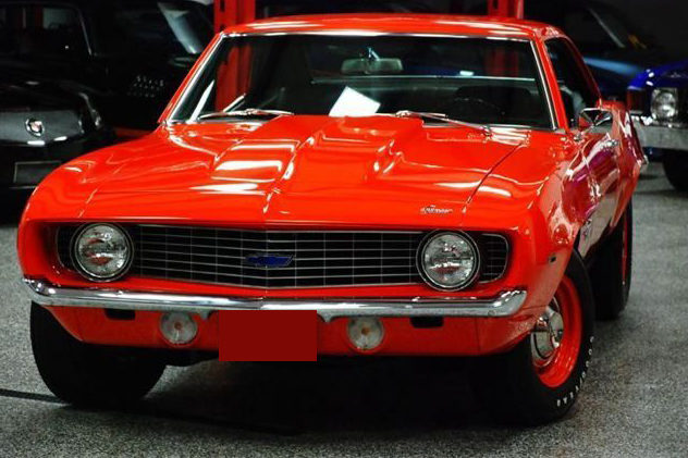 1969 Chevrolet Camaro COPO Replica 4-Speed presented as lot U160 at St. Charles, IL 2011 - image3