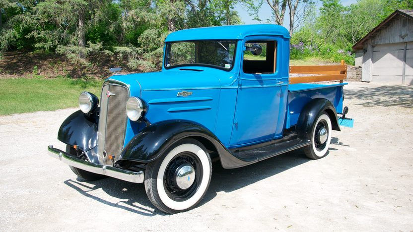 1935 Chevrolet  Pickup From the Collection of David V. Uihlein Sr. presented as lot U61 at St. Charles, IL 2011 - image2