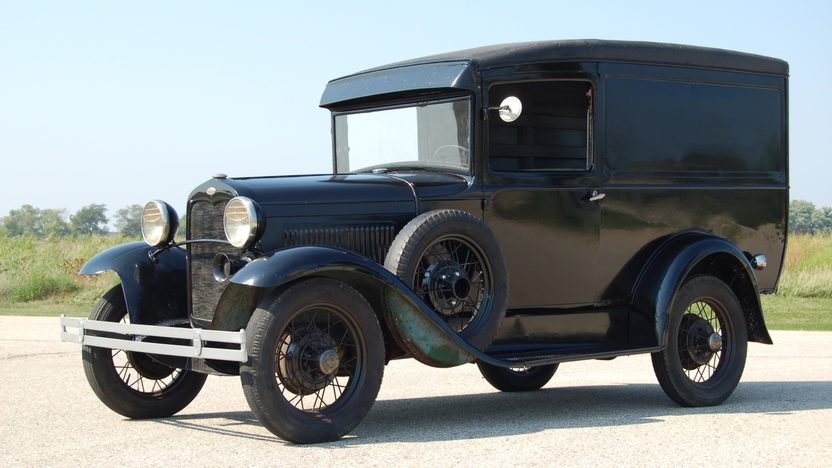 1930 Ford Model A Deluxe Panel Delivery From the Collection of David V. Uihlein Sr. presented as lot U62 at St. Charles, IL 2011 - image2